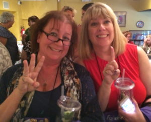 Christine & Sarah took 3rd and 1st in the Imajinn Romance Contest.