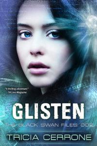 Glisten a superhero YA book by Tricia Cerrone