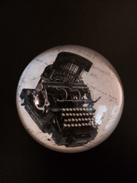 A classic paperweight for writers.