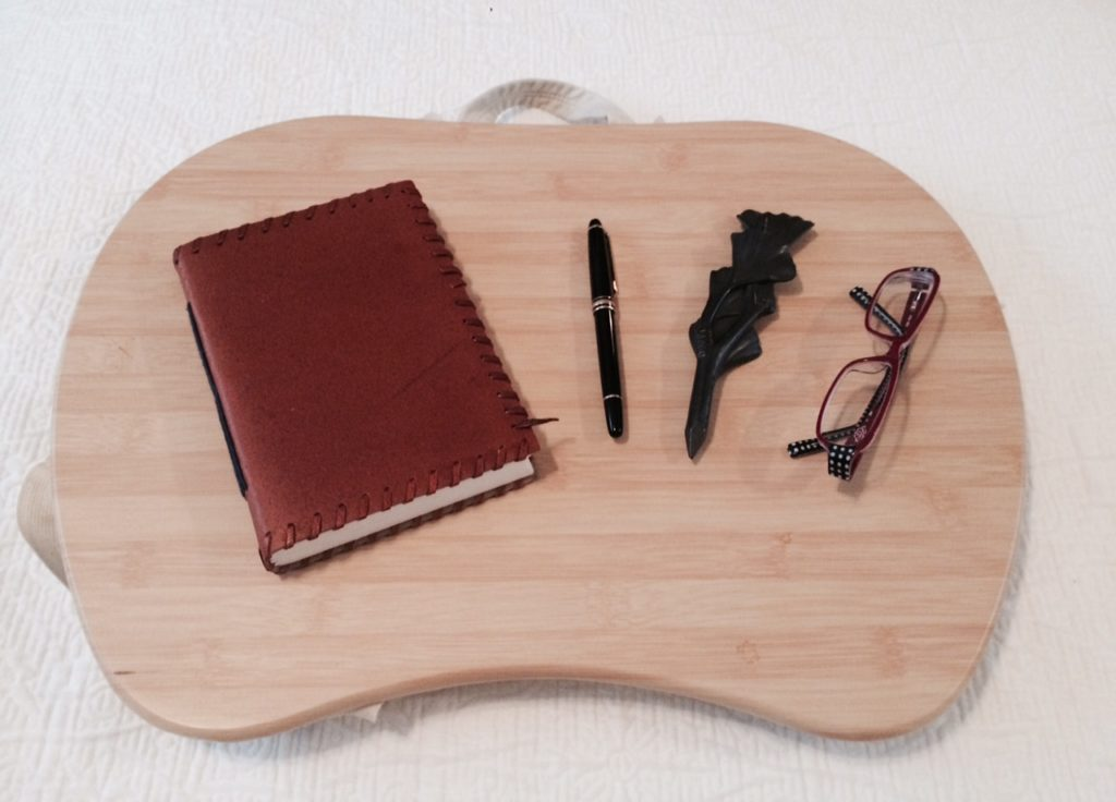 The Lap Desk is also great for people who journal, sketch, and write stuff old school style.